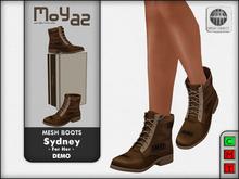 Sydney Mesh desert boots - DEMO for her