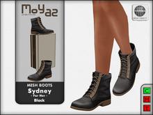 Sydney Mesh desert boots - Black - for her