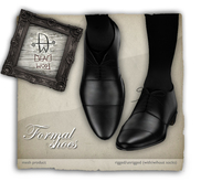[Deadwool] Formal shoes - mesh - black