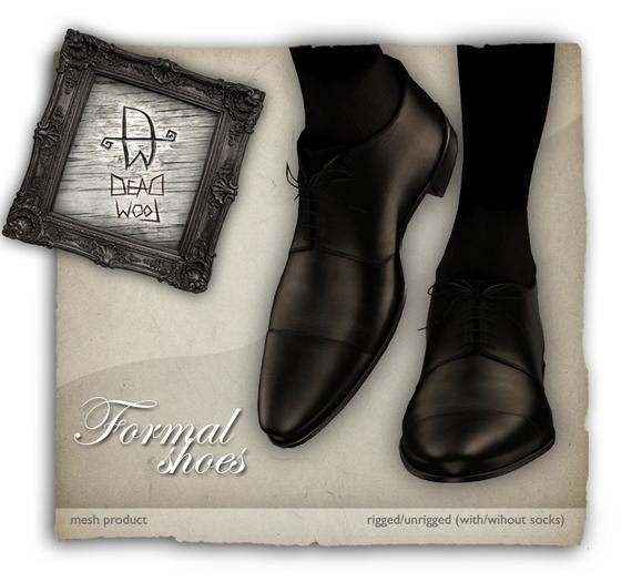 [Deadwool] Formal shoes - mesh - brown