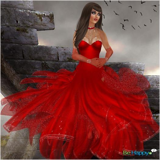 !BH~ Marisia Dress Red PROMO