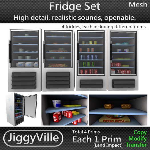 Fridge Set Full Perm