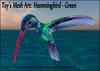 Hummingbird green secondlife