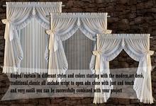elegance deco desing curtain /drapes 150