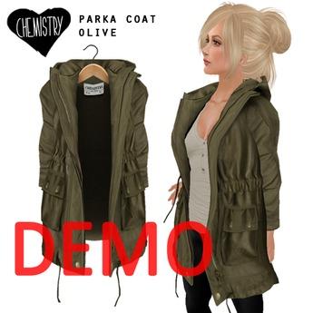(Chemistry) Parka Coat - ! DEMO !