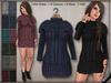 DN Mesh:Knit Dress w HUD