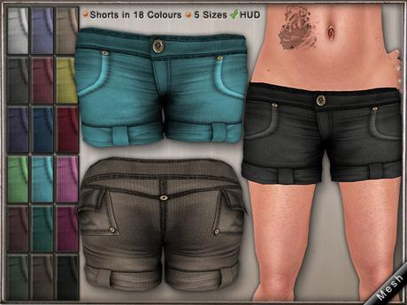 DN Mesh: Go Shorts w HUD