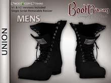 Bootgasm Union Men's Boots Black