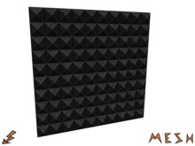 Acoustic Pyramid Foam Panel (Mesh)