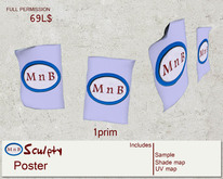 *~M`n B~* Poster (box)