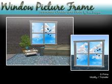 Art Window Spring / Summer Scene Sunny Day