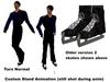Xst iskatem skate turn stand