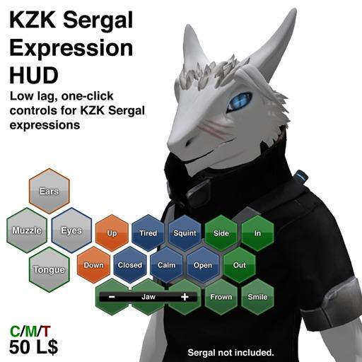 KZK Sergal Expression HUD