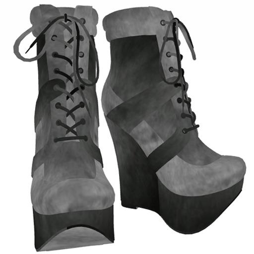 ShuShu FEEL FREE boots  - DEMO MESH resizable & rigged