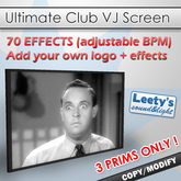 Ultimate Club VJ Screen (sync to music)