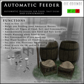 212 DESIGNS - Automatic Feeder for Amaretto Horses (COPY Version)