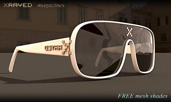 *RAYED magazine shades 1.0 (BOXED)