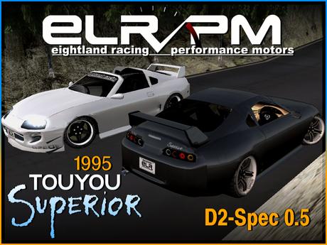 '95 ELR Touyou Superior D2 0.5 - Reduced Price, sculpted car
