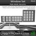 Window Set Mesh Full Perm