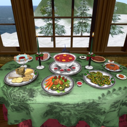 DELUXE Christmas Party Table