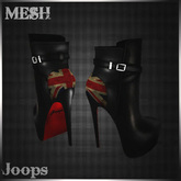 70%OFF!.::Joops::.~British Ankle Boots~MESH