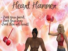 LOVE Heart Hammer (just wear) - VALENTINES - Valentines Day