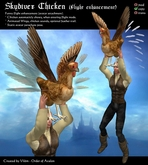 Skydiver Chicken (Flight Enhancement)