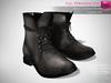 Full Perm Mesh Men's Casual Combat Boots - Fashion Kit