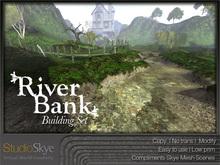 River Bank Building Set - 100% MESH