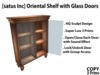 [satus Inc] Oriental Shelf with Glass Doors