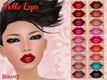 -Errant- Belle Lips (18 Colors)