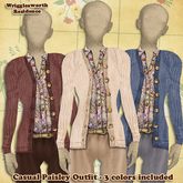 (W) Casual Paisley Outfit - 3 Colors