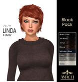 Amacci Hair ~ Linda - Black Pack