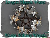 Dragon Magick Wares Winter Solstice Wreath