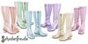 Schadenfreude Pastels Carnaby Boots Pack