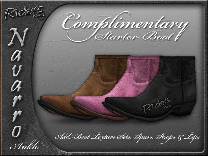 Riders Navarro Complimentary Starter Boot Kit (Ankle)