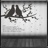 *~LT~* Grow Old Together Wall Art Decal