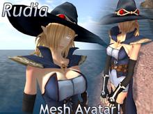 Rudia - Anime Witch - Mesh Avatar!