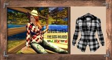 "Cowgirl Shirt ""black"" (mesh) - even.flow"