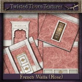 ~TTT~ French Walls Add-On Set (Rose)