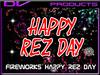 DV -fireworks Happy Rez day unlimited use