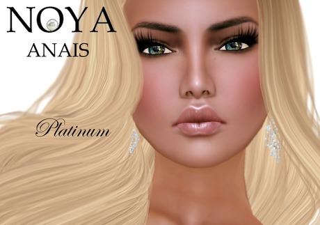 **NOYA** [PROMO] ANAIS - Female Platinum Model Avatar