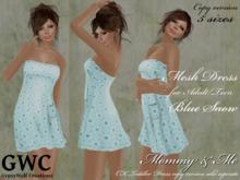 GWC Mesh Dress Adult -Blue Snow