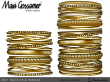 Bangles - 24ct Solid Gold Jewellery (V1)
