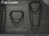 Necklace - Black Tahitian Pearls - Combo Sets and Single Strands (V1)