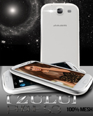 [ Z U L U ] Phone GIII White Mesh