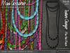 Necklace - Garbo Graduated Pumpkin beads - FATPACK (V1)