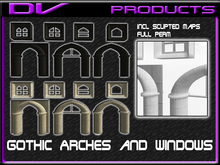 DV -Gothic Arches and windows