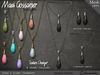 Necklace - Esra's Giant Teardrop - V2