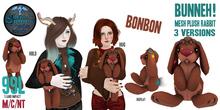(BonBon) Bunneh! Mesh Plush Rabbit ~silentsparrow~ Stuffed Animal